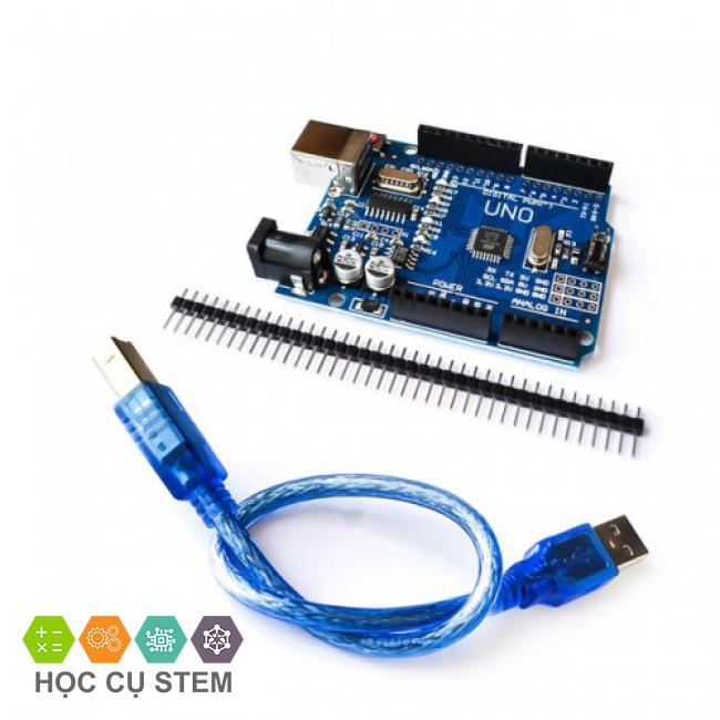 Arduino Uno R3 SMD (CH340 + ATMEGA328P-AU) - Lập...